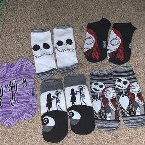 The Nightmare Before Christmas Socks